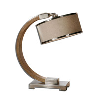 Uttermost 26577-1 Metauro 21 inch 100 watt Desk Lamp Portable Light thumb