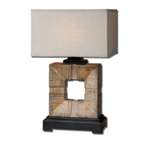 Uttermost Mula 1 Light Table Lamp in Bamboo 26584-1