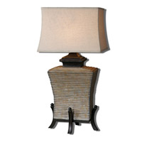 Uttermost Segura 1 Light Table Lamp in Concrete 26586-1