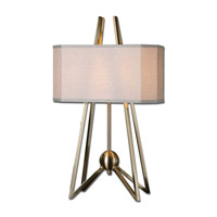 Uttermost Andar 2 Light Table Lamp in Coffee Bronze 26595-1