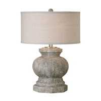 Textured Ceramic Metal Table Lamps
