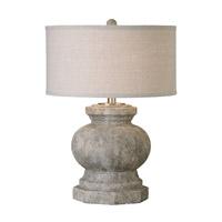 Uttermost 26614-1 Verdello 27 inch 100 watt Textured Ceramic Table Lamp Portable Light