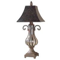 Uttermost Galeana Table Table Lamp in Antique Bronze 26622 photo thumbnail