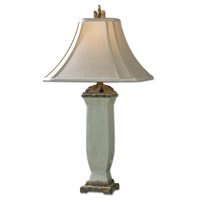 Uttermost Reynosa Table Table Lamp in Light Blueish Gray Wash 26625