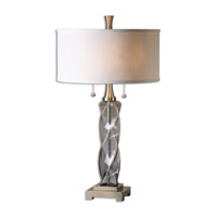 Spirano 29 inch 75 watt Gray Table Lamp Portable Light