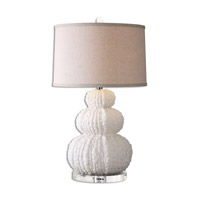 Fontanne 28 inch 150 watt Ivory Table Lamp Portable Light