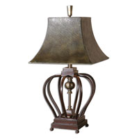 Uttermost Morrisa Table Table Lamp in Mahogany Toned Metal 26685 thumb