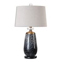 Vergato 28 inch 150 watt Charcoal Table Lamp Portable Light