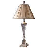 Uttermost Celia Table Table Lamp in Crystal Fluted Glass 26693
