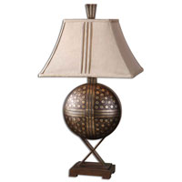 Uttermost Darius Table Table Lamp in Hand Rubbed Mocha Bronze 26730 photo thumbnail