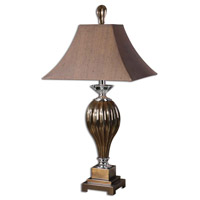 Uttermost Omari Table Table Lamp in Metallic Bronze Porcelain 26734