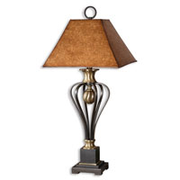 Uttermost Sonoma Table Lamp in Lightly Distressed Black 26742 thumb