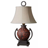 Uttermost Molten Table Lamp in Molten Lava Glaze 26748 thumb