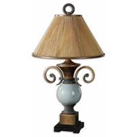 Uttermost Wayland 1 Light Table Lamp in Burnished Bronze 26756