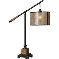 Uttermost Sitka 1 Light Lamps in Aged Black 26760-1