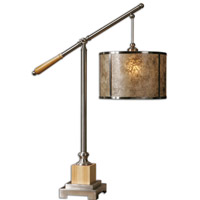 Uttermost Sitka Silver Table Lamp in Brushed Aluminum 26765-1