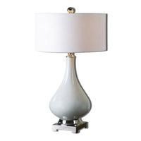 Uttermost 26768-1 Helton 30 inch 100 watt White Table Lamp Portable Light
