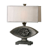 Uttermost Billerica Table Lamp in Heavily Antiqued Silver Champagne 26799-1 photo thumbnail