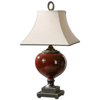 Uttermost Anka 1 Light Table Lamp in Heavily Antiqued Dark Bronze 26855