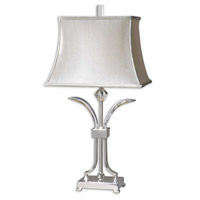 Uttermost Carovilli Table Lamp in Polished Nickel Plated 26881
