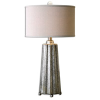 Uttermost 26906-1 Sullivan 33 inch 150 watt Brushed Nickel Table Lamp Portable Light
