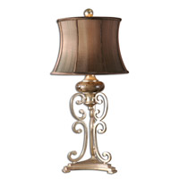 Uttermost Marcella Table Table Lamp in Antiqued Silver Leaf 26922