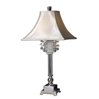 Uttermost Fascination Table Table Lamp in Silver Plated 26927 photo thumbnail