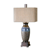 Uttermost 26935-1 Antonito 33 inch 150 watt Textured Ceramic Table Lamp Portable Light