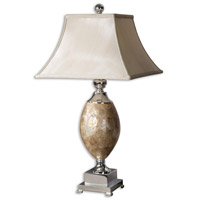 Uttermost Pearl Table Table Lamp in Real Roasted Mother Of Pearl 26981 photo thumbnail