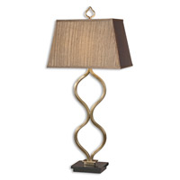 Uttermost Jareth Table Table Lamp in Coffee Bronze 26995