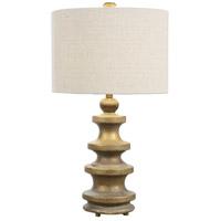 Uttermost 27033-1 Guadalete 29 inch 150 watt Antique Gold Lamp Portable Light