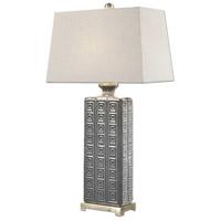 Uttermost 27053 Casale 32 inch 150 watt Aged Gray Lamp Portable Light