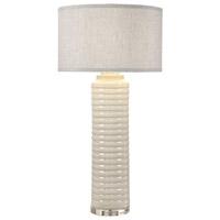 Uttermost 27054-1 Yana 36 inch 150 watt Ivory-Gray Lamp Portable Light
