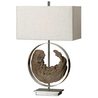 Uttermost 27072-1 Ambler 29 inch 100 watt Driftwood Lamp Portable Light photo thumbnail