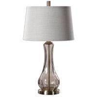 Uttermost 27085 Cynthiana 30 inch 150 watt Smoke Gray Lamp Portable Light