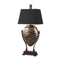 Uttermost Aguila 1 Light Table Lamp in Dark Bronze 27102