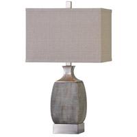 Uttermost 27143-1 Caffaro 28 inch 150 watt Rust Bronze Table Lamp Portable Light