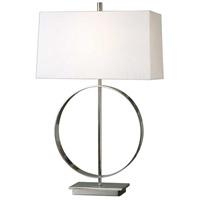 Uttermost 27153-1 Addison 29 inch 100 watt Polished Nickel Lamp Portable Light