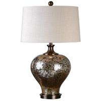 Uttermost 27154-1 Liro 30 inch 150 watt Dark Bronze Table Lamp Portable Light
