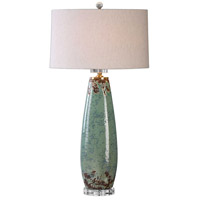 Uttermost 27157-1 Rovasenda 35 inch 150 watt Mint Green Table Lamp Portable Light