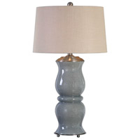 Uttermost 27162 Cannobino 36 inch 150 watt Pale Blue Table Lamp Portable Light