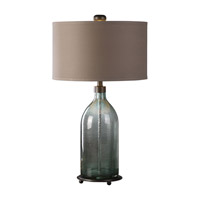Uttermost Massana 1 Light Table Lamp in Dark Oxidized Bronze 27197-1