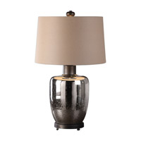 Uttermost Lavelle 1 Light Table Lamp in Oxidized Bronze 27198