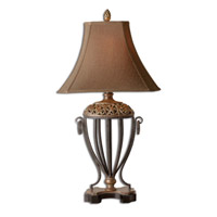 Uttermost Jenelle Table Table Lamp in Red Underlayer 27206