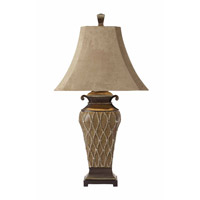 Uttermost Cortina Table Table Lamp in Warm Brown 27211