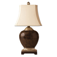Uttermost Sabine Oval Table Lamp in Polished Faux Penshell 27216