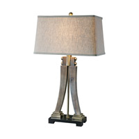 Yerevan 31 inch 100 watt Antique Brass/Dark Bronze Table Lamp Portable Light