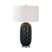 Kallithea 29 inch 150 watt Deep Blue Table Lamp Portable Light
