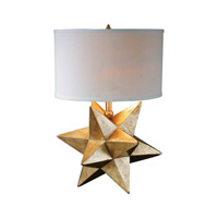 Uttermost Stella 1 Light Table Lamp in Gold 27247-1