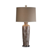 Uttermost Reptila 1 Light Table Lamp in Textured Ceramic 27267